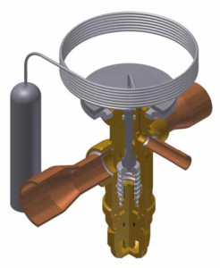 TGE – Thermostatic expansion valves