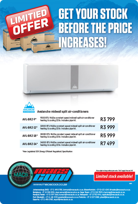 MACSCool Avalanche Aircon Special